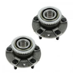 98-02 Mazda 626 (w/ABS) Rear Wheel Bearing & Hub Assy PAIR