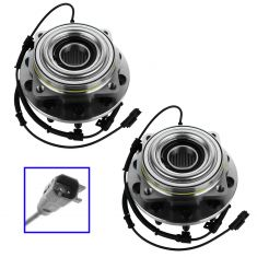 11-12 Ford F450SD, F550SD (Cab & Chassisw/4WD) Front Wheel Bearing & Hub Assy PAIR