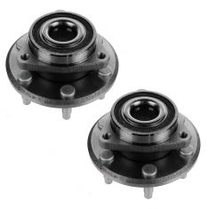 07-13 Acadia; 08-14 Enclave; 07-10 Outlook; 09-12 Traverse Rear Wheel Bearing & Hub Assy PAIR