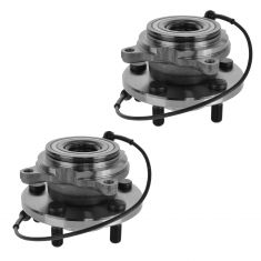 99 Land Rover Discovery Series II; 00-04 Discovery Rear Wheel Bearing & Hub PAIR