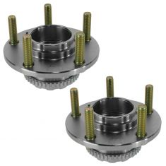 03 (from 10/14/02)-08 Hyundai Tiburon w/ABS Rear Wheel Hub & Bearing PAIR