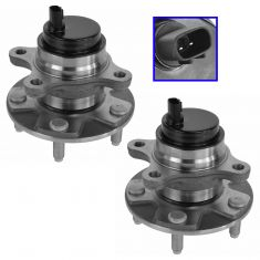 06-11 Lexus GS Series RWD; 06-14 IS Series Sedan (w/RWD & Conv) Front Wheel Bearing & Hub Assy Pair