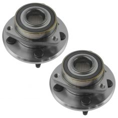10-15 Chevy Camaro 6.2L, or w/3.6L & MT Rear Wheel Bearing & Hub Assy Pair