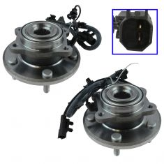 09-15 Dodge Journey Rear Wheel Bearing & Hub Assy Pair