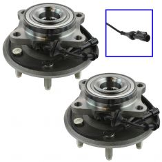 07-10 Ford Expedition; Lincoln Navigator Rear Wheel Hub & Bering Assembly Pair