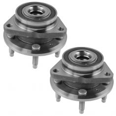11-14 Chevy Cruze Front Wheel Bearing & Hub Assembly Pair