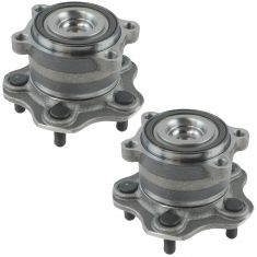 09-13 Nissan Murano; 11-13 Quest w/FWD Rear Wheel Bearing & Hub Assy PAIR