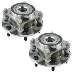 03-09 GX470; 03-14 4Runner; 07-14 FJ Cruiser; 10-14 Tacoma 4WD Front Hub & Bearing Assembly PAIR