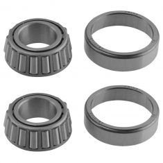 Front Outer Various Wheel Bearing & Race Set Pair A12