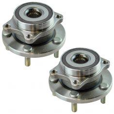 04-14 Subaru WRX STI Front Wheel Bearing Hub Assembly Pair