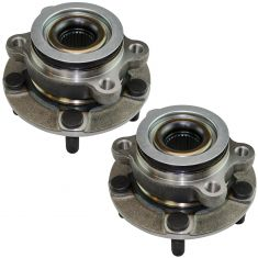 11-15 Juke Leaf Front Wheel Bearing & Hub Assembly Pair