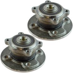 07-15 Mini Cooper Rear Wheel Hub And Bearing Assembly Pair