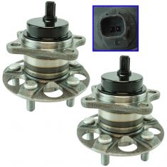 10-16 Prius Rear Wheel Bearing & Hub Assembly Pair