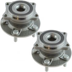 07-13 Outlander 08-15 Lancer Rear Wheel Hub & Bearing Assembly Pair
