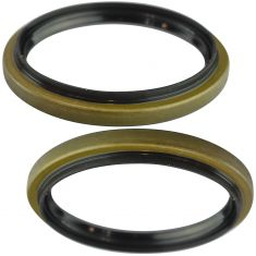 81-03 E250, 81-02 E350, 00-01 E450, 00-05 Excursion, 88-91 F53, Front Wheel Seal Pair