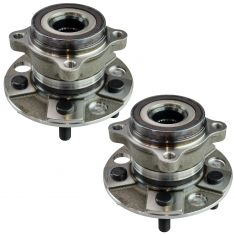 07-16 LS460, 08-16 LS600h Rear Wheel Bearing Hub Assemblies Pair