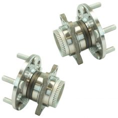 11-16 Elantra, 12-16 Veloster, 14-16 Forte Rear Wheel Hub Bearing  Assemblies Set Pair