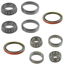 88-89 Brougham, 76-86 C10, 88-00 C2500 Inner & Outer Wheel Bearings & Seal 6 Piece Kit