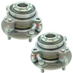 08-17 Toyota Sequoia; 07-17 Tundra w/2WD Front Wheel Hub & Bearing Assembly LF RF Pair