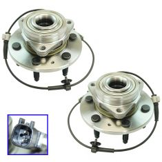 15-16 Escalade 4WD Front Wheel Hub & Bearing Assembly LF & RF Pair