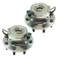 07-10 Chevy 3500 Front Wheel Hub & Bearing Assembly LH  RH Pair