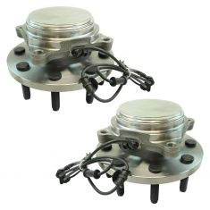 09-11 Ram 2500 Front Wheel Hub & Bearing Assembly LH  RH Pair