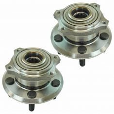 05-12 Acura RL Rear Wheel Hub & Bearing Assembly LH &  RH Pair