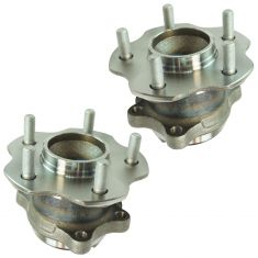 11-16 Nissan Juke Rear Wheel Hub & Bearing Assembly LH  RH Pair