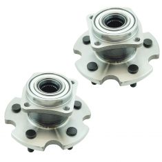 09-13 Toyota Matrx AWD XR, S Rear Wheel Hub & Bearing Assembly LH RH Pair