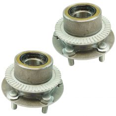 02-03 Kia Sedona Rear Wheel Hub & Bearing Assembly LH  RH Pair