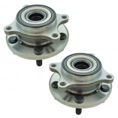 05-12 Acura RL Front Wheel Hub & Bearing Assembly LH RH Pair