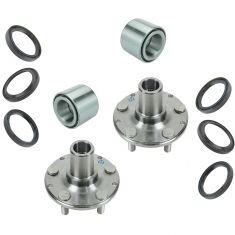 98-08 Forester, 99-07 Inpreza, 90-99 Legacy, Rear Pair Hub,bearing & seal kit