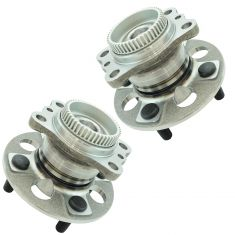 12-16 Accent, 12-16 Rio, Rear Wheel Hub & Bearing Assembly LR RR Pair