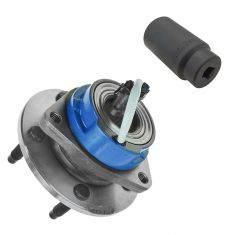 97-05 GM Cars Front Hub assembly with 34mm Socket