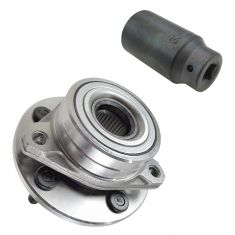 96-06 Ford FWD Cars Front Hub & Bearing Assy with 30mm Socket