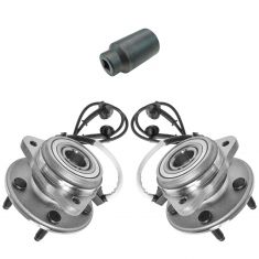 95-02 Explorer Front 4x4 Hub Bearing Pair with 32mm Socket