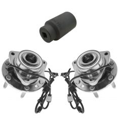 07-11 GM Mid Size SUV Front Wheel Hub & Bearing PAIR with 36mm Socket