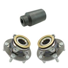 Nissan Sentra, Rogue, Rogue Select Front Hub & Bearing Pair with 32mm Socket