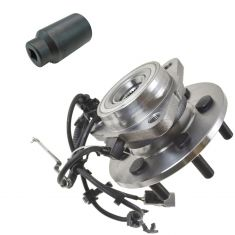 97-04 Dodge Dakota 4x4 w/AWAL Frt Hub & Bearing LF with 32mm Socket