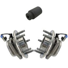 07-11 GM Mid Size SUV Front Wheel Hub & Bearing PAIR w/ 36mm Socket