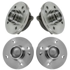 02-06 (thru 7/11/06) Mini Cooper Front & Rear Wheel Hub & Bearing Kit (4pcs)