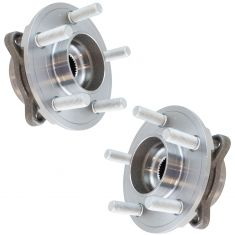 15-17 Ford Mustang (exc GT350) Rear Wheel Hub & Bearing Assembly PAIR