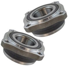 11-17 BMW X3; 15-18 X4 Rear Wheel Bearing Module PAIR