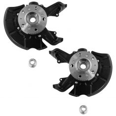 98-10 Beetle; 99-10 Golf; 99-00 GTI 2.0L Front Hub & Knuckle Assembly Pair