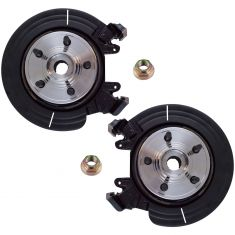 Ford Explorer 2005-02, Mountaineer 2005-02 Rear Hub & Knuckle Assembly Pair