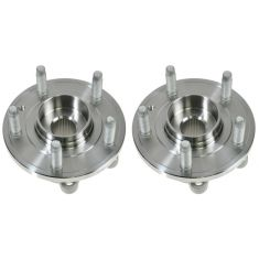 09-11 Ford Flex, Lincoln MKS; 10-11 MKT, Taurus Front Wheel Bearing & Hub LH = RH (MOTORCRAFT) PAIR