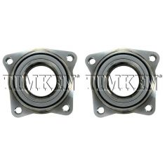 90-97 Honda Accord 4cyl, 97-99 Acura CL Hub Brg Ft (Timken) PAIR