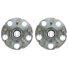 1999-04 Honda Odyssey Rear Wheel Hub & Bearing PAIR