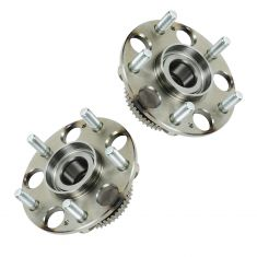 03-07 Honda Accord (exc Hybrid); 04-08 Acura TL Rear Wheel Hub & Bearing PAIR