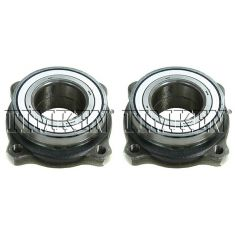 1997-10 BMW 5 Series Multifit Rear Wheel Hub Bearing Module PAIR (Timken)